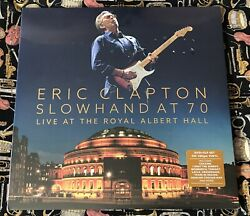 Eric Clapton - Slowhand At 70 Live At The Royal Albert Hall Lp New 3lp And Dvd