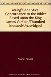 Young's Analytical Concordance To Bible Based Upon King By Robert Young Vg+