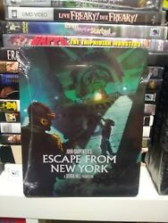 Escape From New York Blu-ray Disc 2017 2-disc Set Steelbook Limited Edition