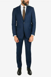 Men Formal Outfits Wool And Silk Milano 2 Button Suit