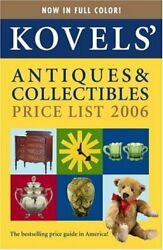 Kovelsand039 Antiques And Collectibles Price List 38th Edition By Terry Kovel And Ralph