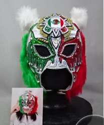 Io Shirai Mexican Color Mask With Autographed W/wearing Photo
