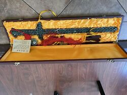 Chinese Sword Dagger Knife Authentic Antique Chinese Cash Coins Lucky Feng Shui
