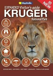 Expanded Visitor's Guide Kruger National Park By Map Studio Excellent Condition