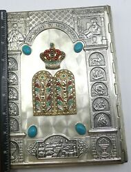 Vintage Haggadah Executed By Arthur Szyk Edited By Cecil Roth Metal Jeweled Cove