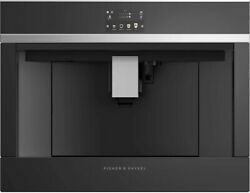Fisher Paykel Eb24dsxb1 24 Black Built-in Coffee Maker T2 Hrt