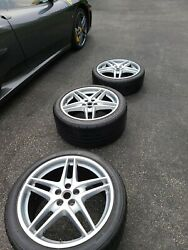 19 Ferrari F430 430 / 360 Coupe / Spider Oem Factory Wheels/tire Set - 1f And 2r