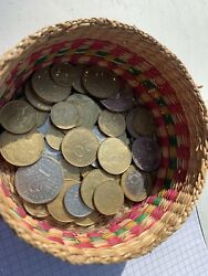 Old French Coins French Francs Centimes Mixed Period/ Ages Francaise Republique