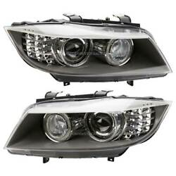 For Bmw 328i 335i Xdrive And 335d Pair Hella Left And Right Headlight Set Tcp