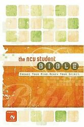 Ncv Student Bible New Century Version, Engage Your Mind By Ncv-translation Vg+