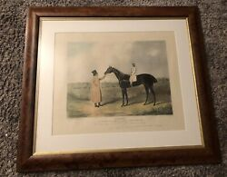 Jerry The Great St Leger Winner 1824 By J F Herring And Thomas Sutherland