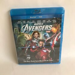 Marvels The Avengers Blu-ray/dvd 2012 2-disc Combo Pack New Sealed