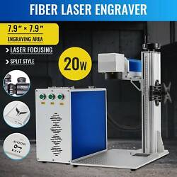 20w 7.9x 7.9 Raycus Fiber Laser Marking Machine For Metal And Non-metal Cutter