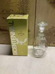 Old Grand-dad Bourbon Whiskey Bicentennial Edition Decanter Empty With Box