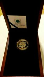 Lebanon 10th Anniv-2014 Special Investigation Commision Official Silver Coin