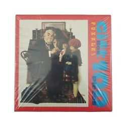 Vtg Fink And Company Doctor And The Doll 100 Pc Fully Interlocking Jigsaw Puzzle