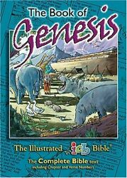 Book Of Genesis Illustrated International Childrens Bible By Keith R. Vg