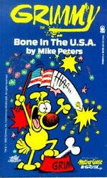 Grimmy Bone In U.s.a. Mother Goose And Grimm By Mike Peters Mint Condition