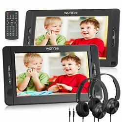 10.5 Dual Portable Dvd Player For Car Headrest Kids Cd Players With Two