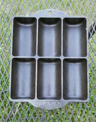 Vintage Griswold No. 16 Cast Iron Bread Muffin Pan Restored Condition