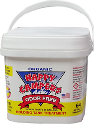 Happy Campers Organic Rv Holding Tank Treatment 64 Treatments No Chemical Smell