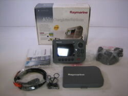 Raymarine A50d Chartplotter Complete In Box - New Old Stock E62186-us