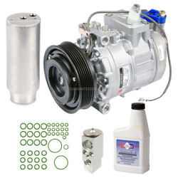 For Porsche Boxster And 911 Oem Ac Compressor W/ A/c Repair Kit Tcp