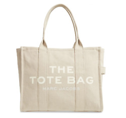 """The Marc Jacobs Traveler Canvas Tote Bag Beige """"New No Tag"""""""