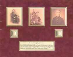 Actual Hairs Of Abraham Lincoln And William H. Seward - Relic - Last One