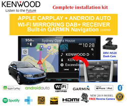 Kenwood Dnx9190dabs For Audi A4 Incl S4 2001-2008 B6-b7 Stereo Upgrade