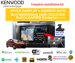 Kenwood Dnx9190dabs For Mazda 3 2009-2013 Bl Non-bose - Stereo Upgrade