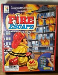 Fire Escape A Maze Solving Firefighter Logic Game New In Sealed Box