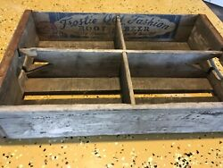 Vintage Wooden Soda Crate Frostie Old Fashion Root Beer