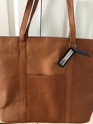Latico Leathers Heritage Collection Suburban Tote Neutral