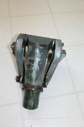 Vintage Johnson Qd-11 10hp Outboard Motor Transom Clamp Assembly W/ Id Plate