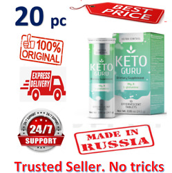 20x Keto Guru Ultra Weight Loss Control Supplement. 10 Tabs. Health And Beauty New