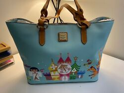 Disney Dooney And Bourke Small World Tote Nwt Hard To Find Bag