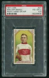 1911 C55 Imperial Tobacco 27 Walter Smaill Rc Hands On Hip Variation Psa 4.5