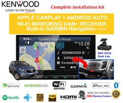 Kenwood Dnx9190dabs For Kia Sportage 2010-2015 Sl Car Stereo Upgrade-sc Amp
