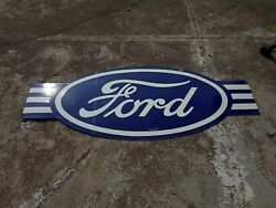 Porcelain Ford Enamel Sign Size 50 X 20 Inches