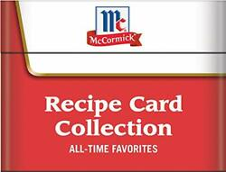 Mccormick All-time Favorites - Recipe Card Collection Tin By Publications New