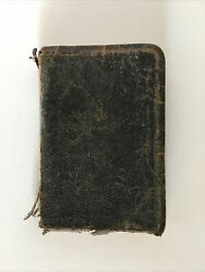 Vintage Oxford The Holy Bible Leather Pocket Size Appointed To Be Read In Church