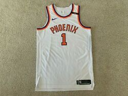 Devin Booker Phoenix Suns Team Issued Pro Cut Authentic Jersey Nike Hwc