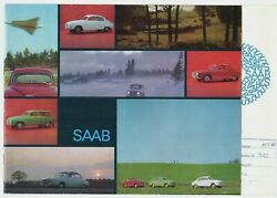 Saab 96 And 95 2-stroke 1965-66 French Market Sales Brochure Monte Carlo