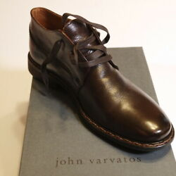 John Varvatos Made In Italy Mens Shoes Size 9 Brown Chucka Heritage Oxford