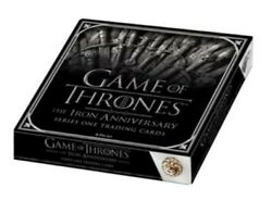 Game Of Thrones Iron Anniversary Series One Hobby Case 10 Boxes 2 Autos-box