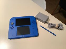 Nintendo 2ds Electric Blue Mario Kart 7 And 5 More Games Pre Installed Console