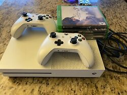 Xbox One S 500gb 2 Controller With Games Bundle