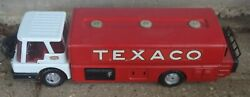 Vintage Texaco Fuel Tanker Red And White By Brown And Bigelow