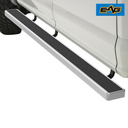 Eag Running Board 6 Chrome And Bracket Fit 16-17 Gmc Sierra 1500 Extended Cab